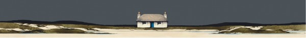 Ron Lawson_Thatched Cottage_Image size 3.75x30 inches