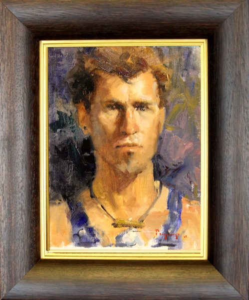 Stan Propenko_Original_Oils_Man With Necklace_9x12