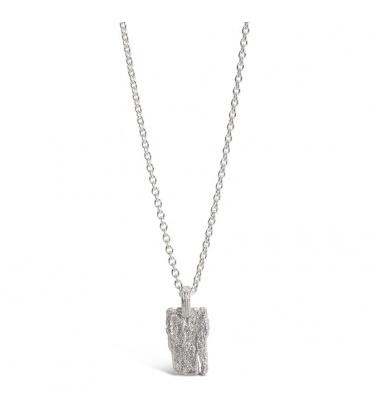 i love a lassie_ Bark necklace_ Silver