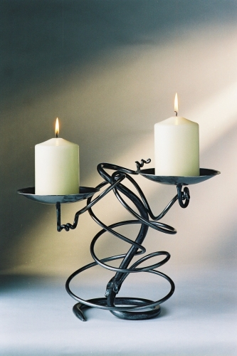Double Tangle Candlestick_TGL002_99_13inch 6 base