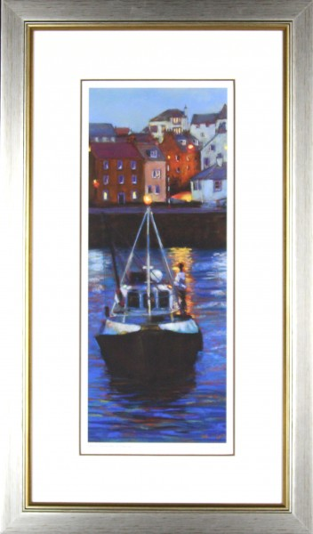 Gina Wright_SIgned Edition Print_Evening Departure_image 20x8_framed 30x18 (2)