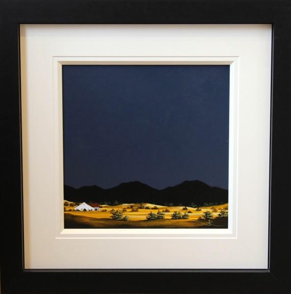 John Russell_Original Oils_ Croft Harris_image 16x16_framed 27x27 (1)