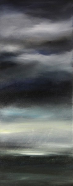 Kate Cunningham_Sky I_Original Oils_ 1 _19.75x8