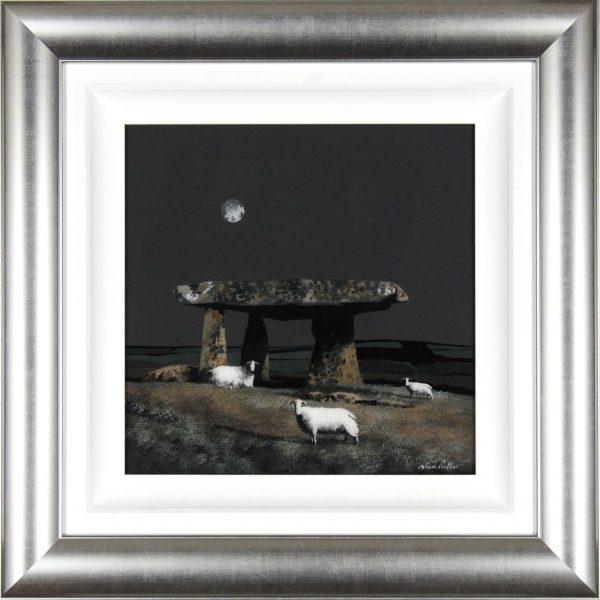 Nick Potter_Original_Lanyon Quoit II_image 15x15_Framed 25.5x25.5