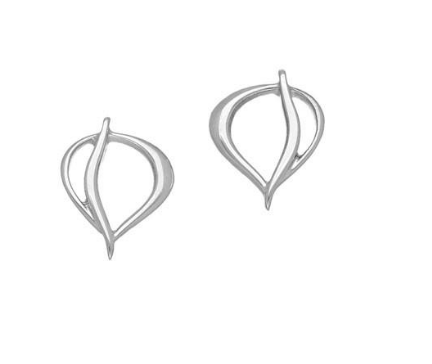 Ortak Silver Drop Stud Earrings_E1776 _ 1.26