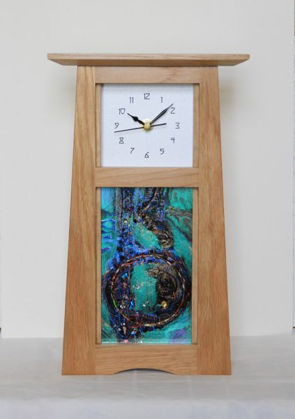 Archie McDonald_Robert Ryan_Mantle Clock I
