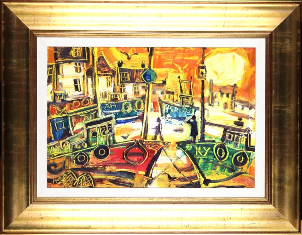 CMW_East Neuk II_Oils_22.25x28.75 Framed
