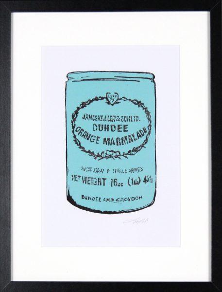 Laura Nicoll_SIgned Digital Print_Keiller's Marmalade Blue_image 11.5x8_Framed 12.75 (3)
