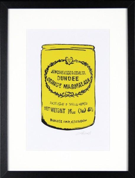Laura Nicoll_SIgned Digital Print_Keiller's Marmalade Yellow_image 11.5x8_Framed 12.75 (4)