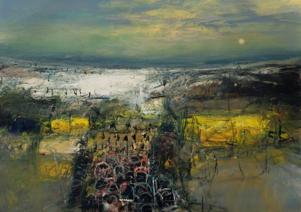 Nael Hanna_East Coast Creels_Oil_39x55