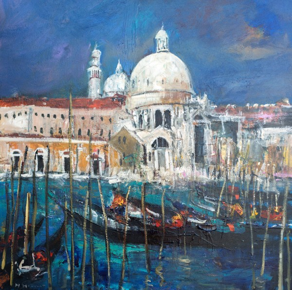 Nael Hanna_San Marco, Venice_Mixed Media_39x39