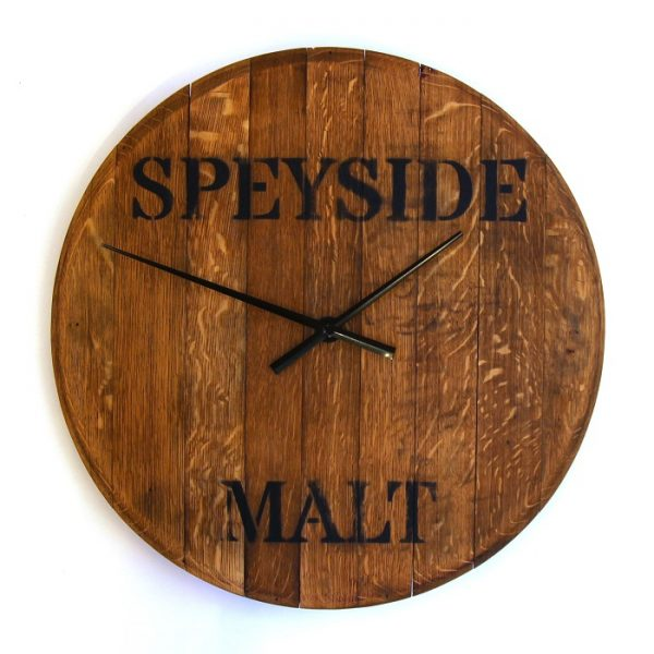 Chris Hodgson_Whisky Barrel Top Clock_Speyside Malt_23x23_£159