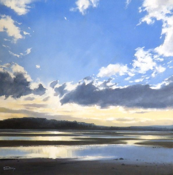 George Noakes_Towards Tayport II_Oils_20x20