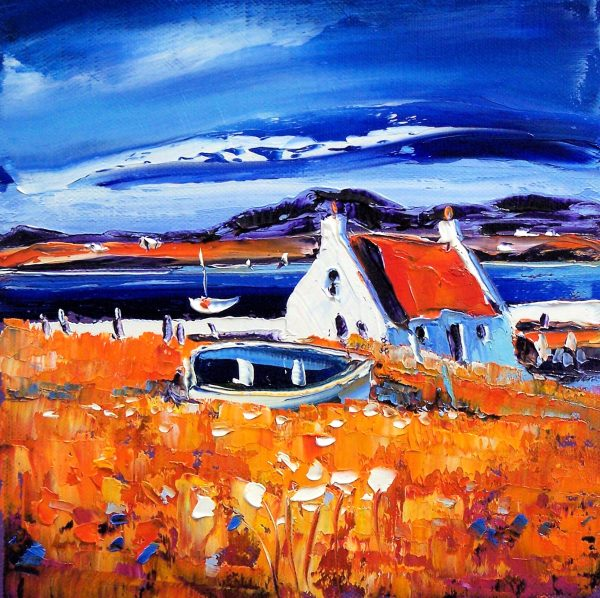 Jean Feeney_Croft on Barra_Oils_8x8