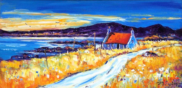 Jean Feeney_Dawnlight, Ardnamurchan_Oils_12x24