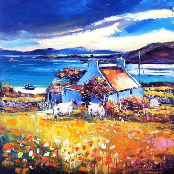 Jean Feeney_Fine Memory, Oldshoremore, West Sutherland_Oils_16x16