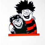 John Patrick Reynolds_Comic Art_DTM & Gnasher-sitting-450x450