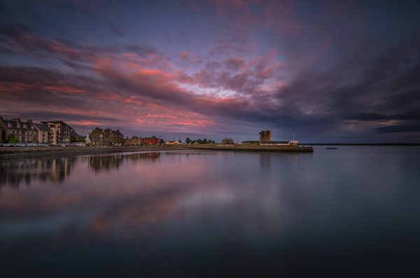 DECEMBER_Ben Hirst - Castle at Sunset from the Pier