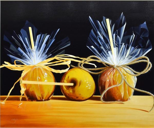 AJ Callan_Toffee Apples_Acrylic_Image 30 x 36