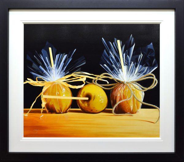 AJ Callan_Toffee Apples_Acrylic_Image 30 x 36_framed