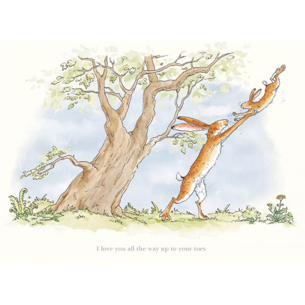 Anita Jeram_I Love You All the Way Up to Your Toes_Signed Limited Edition_12x15_mtd199