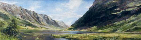 Fiona Haldane original Pass of Glencoe