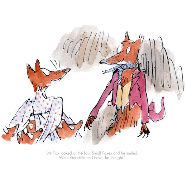 Quentin Blake, Roald Dahl_Fantastic Mr Fox_8.5x10_mtd99