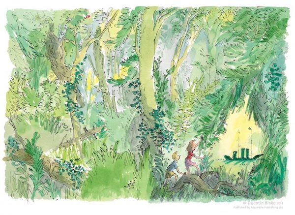 Quentin Blake_The Green Ship_Signed Limited Edition_12x16.5_mtd430