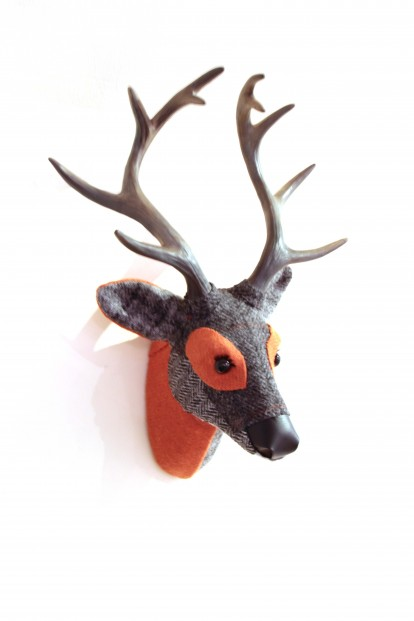 April Barrie_Original_Textile Taxidermy_Dugal_17x12_300 (3)