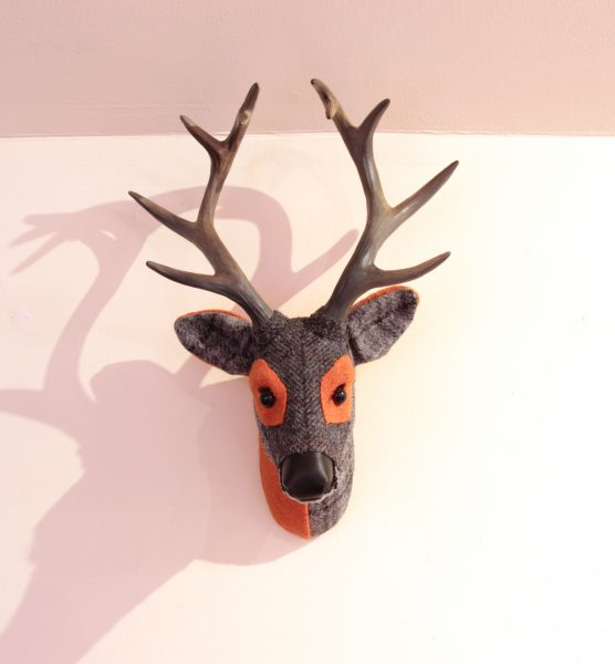 April Barrie_Original_Textile Taxidermy_Dugal_17x12_300 (4)