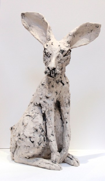 Kirsty Doig_Original_White Earthenware with oxides & wax_ Ruffus_20x12x13 (4)