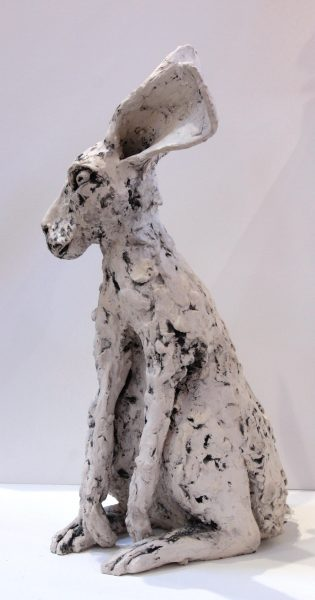 Kirsty Doig_Original_White Earthenware with oxides & wax_ Ruffus_20x12x13 (5)