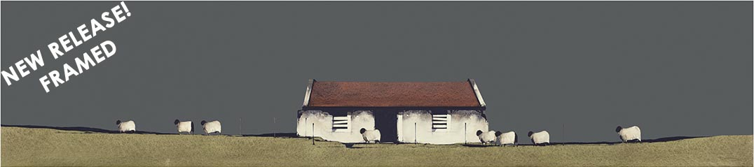 Farm Building, Barra 2 FRAMED