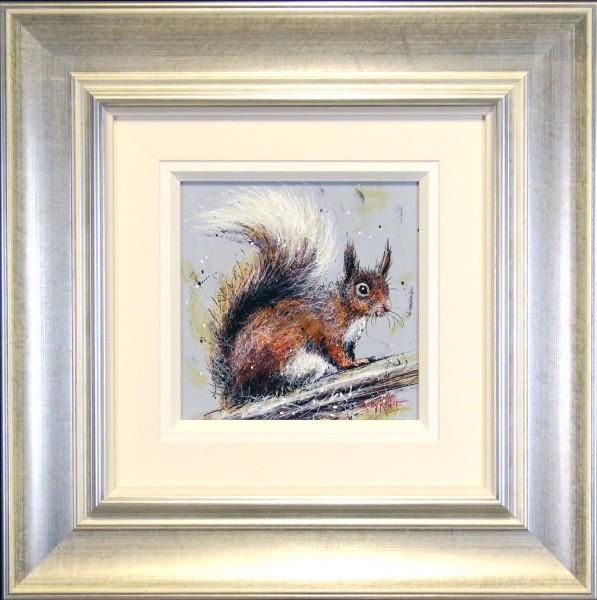 Ruby Keller_Original_Acrylics_Red Squirrel I_fmd 23 x23 img 10x10