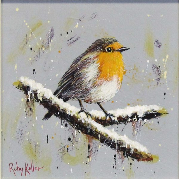 Ruby Keller_Original_Acrylics_Robin I_img 10x10