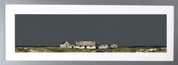 Howmore South Uist Framed