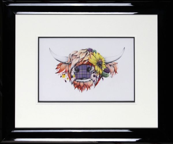Kat Baxter_Original_Mixed Media_Sunny_image 9.5x14.5_Framed 22x26.5  (3)