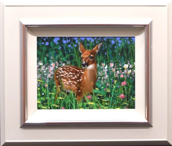 Rob Hefferan_Original_Acrylics_ Fawn I_Framed