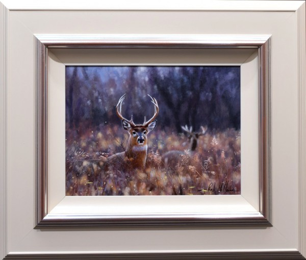 Rob Hefferan_Original_Acrylics_ Stag II_framed