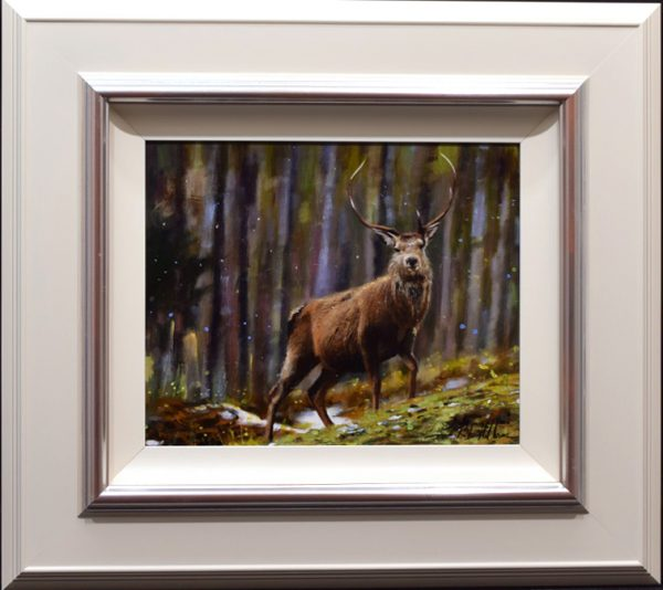 Rob Hefferan_Original_Acrylics_ Stag I_Framed