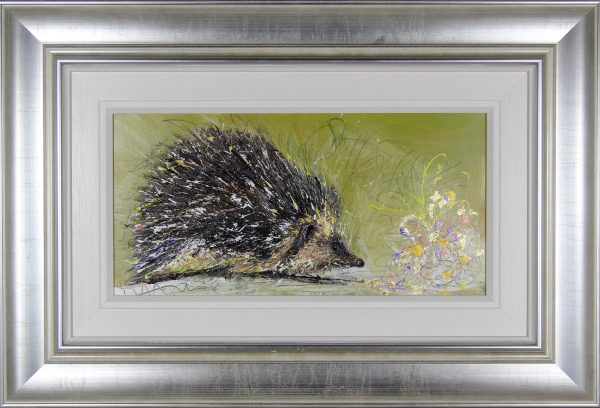 Sarah Spofforth- McOuat_Mr Inquisitive_12x24_Framed 26x37