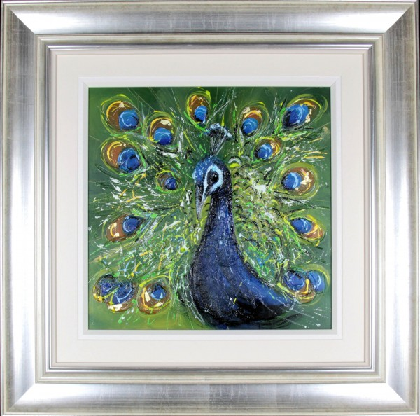 Sarah Spofforth-McOuat_Original_Percy_image 20 x 20 framed 33 x 33