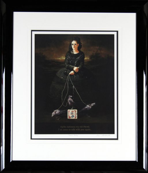 Alan MacDonald_Signed Limited Edition Print_Black Betty_Framed34x30  (2)