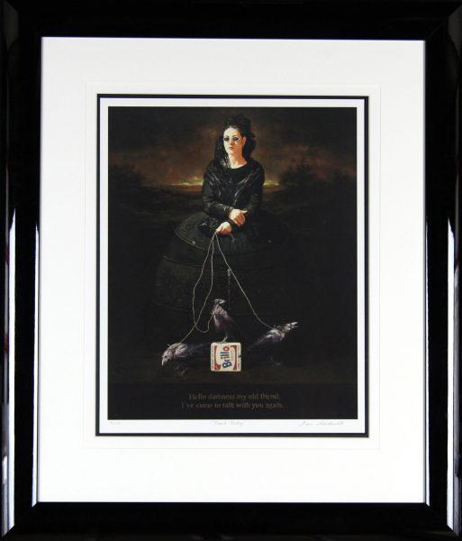 Alan MacDonald_Signed Limited Edition Print_Black Betty_Framed34x30  (2)
