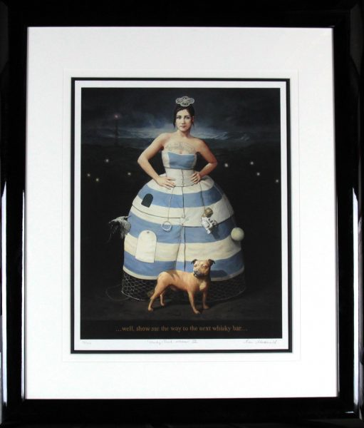 Alan MacDonald_Signed Limited Edition Print_Honky-Tonk Woman_Framed34x30  (3)