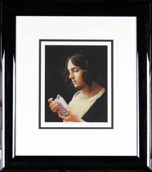 Alan MacDonald_Signed Limited Edition Print_Mother's Little Helper_Framed 27x24 (2)