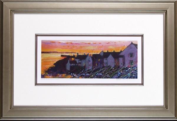 Pittenweem Sunset Framed