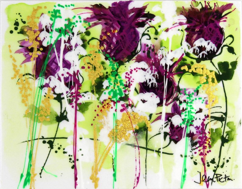 Jean Picton_Original_Mixed Media_ Thistle-Do_Image 14x18 (1)