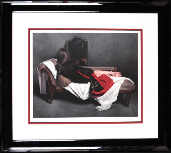 Stephanie Rew_Signed Limited Edition Print_ Dark Reflections_Image 15.5x 19.5_Framed 28.5 x 32 (2)