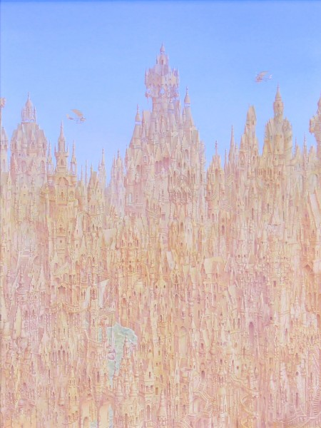 Alister Lindsay_High Rise Gothic_oils_15x11_